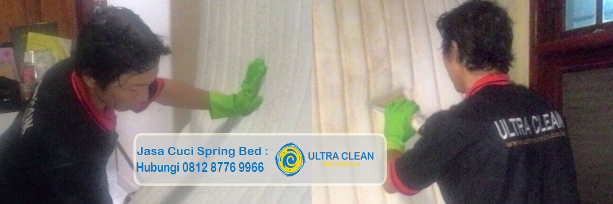 Jasa Cuci Spring Bed